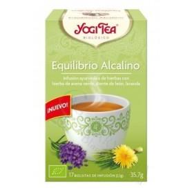 YOGI TEA EQUILIBRIO ALCALINO 17 BOLSAS