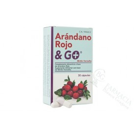 Arandano Rojo & Go 30 Caps
