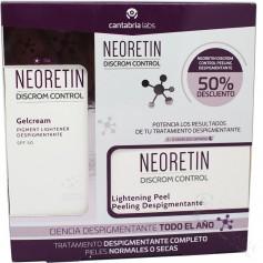 Pack Neoretin Discrom Contol Gel-Crema 40 ML + Discos Peeling Despigmentante 6 Unidades