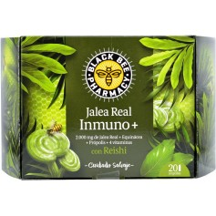 Black Bee Jalea Real Inmuno 20 Ampollas