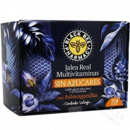 Black Bee Jalea Real Multivit Sin Azucar 20 Ampollas