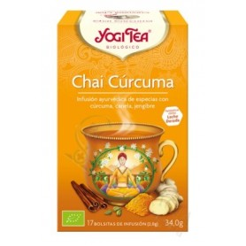 Yogi Tea Curcuma 17 Bolsas