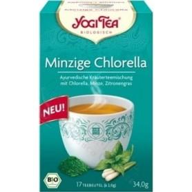 Yogi Tea Chlorella Menta 17 Bolsas