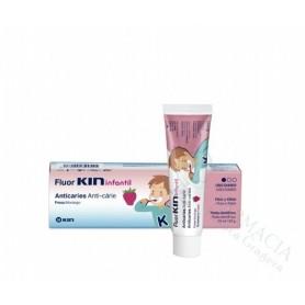 Kin Fluor Infantil Pasta Dentifrica Fresa 75 Ml