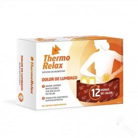 Thermo Relax Dolor De Lumbago/Espalda Banda + 4 Unidades
