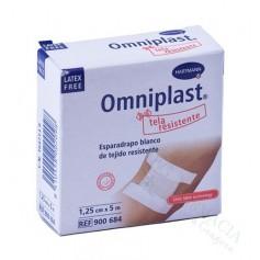 Esparadrapo Omniplast Tela Blanco 1,25X5