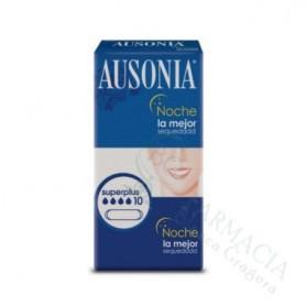 Compresas Ausonia Noche Superplus 10