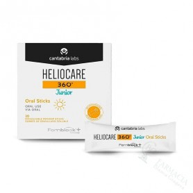 HELIOCARE 360 JUNIOR ORAL STICKS 20X1 GR