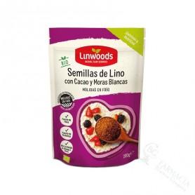 Semillas de Lino, Cacao y Moras Blancos 200G
