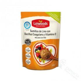 Linwoods Semillas de Lino con Bacillus Coagulans y Vitamina D 200G